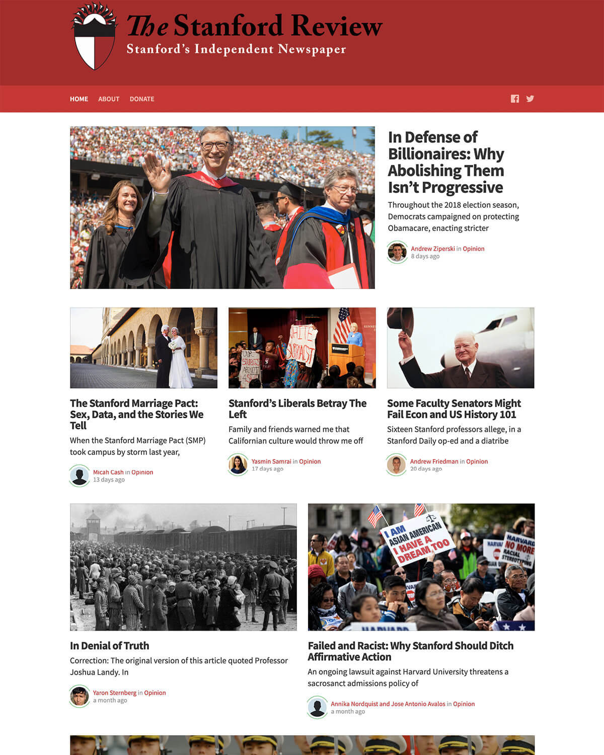 The Stanford Review theme