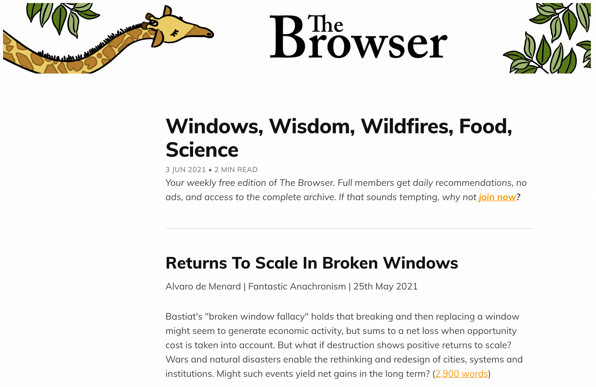 the browser consistency example